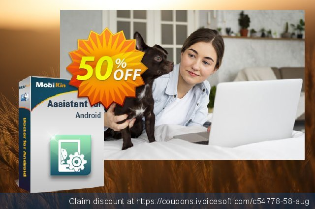 MobiKin Assistant for Android (Mac) - Lifetime, 6-10PCs License discount 50% OFF, 2019 Summer offering sales