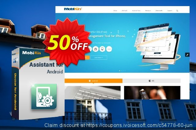 MobiKin Assistant for Android (Mac) - Lifetime, 16-20PCs License discount 50% OFF, 2020 College Student deals offering sales