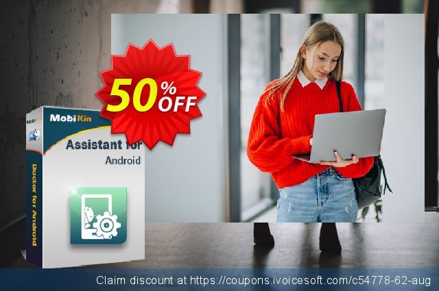 MobiKin Assistant for Android (Mac) - Lifetime, 26-30PCs License discount 50% OFF, 2019 End year deals