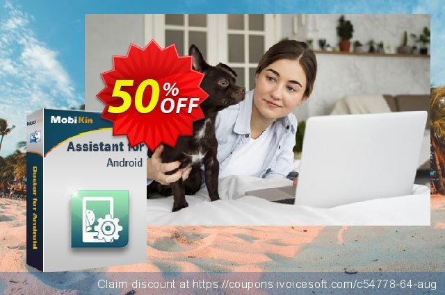 MobiKin Assistant for Android (Mac) - 1 Year, 2-5 PCs License discount 50% OFF, 2019 New Year's Weekend offering sales