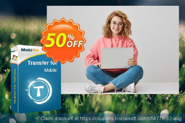MobiKin Transfer for Mobile - 1 Year, 21-25PCs License discount 50% OFF, 2019 Earth Hour offering sales
