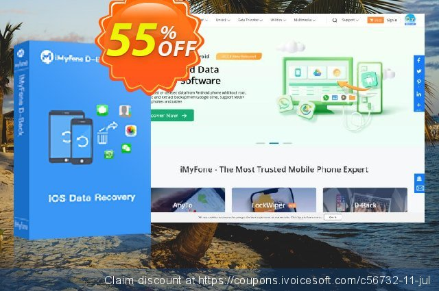 iMyfone D-Back for Mac discount 48% OFF, 2020 Halloween offering sales