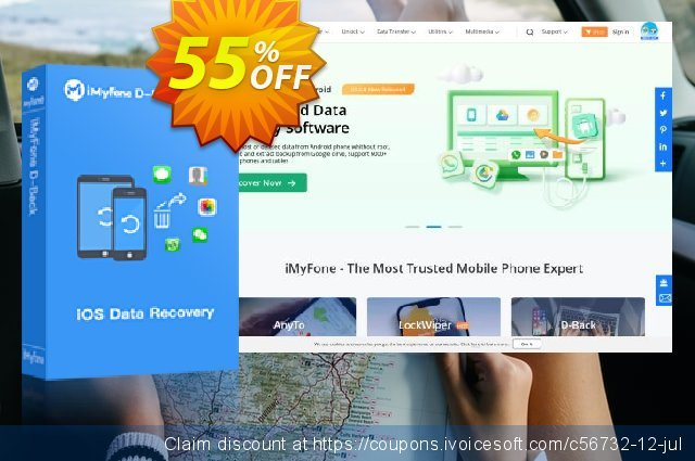 iMyfone D-Back for Mac - Family discount 46% OFF, 2020 April Fools' Day offering discount