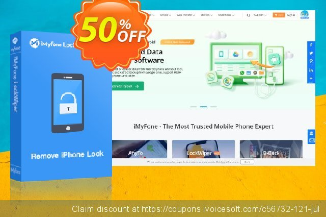 iMyFone TunesMate for Mac discount 50% OFF, 2020 Halloween offering sales