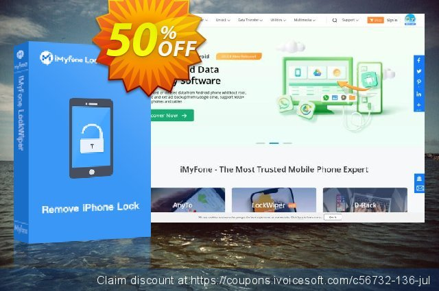 iMyFone TunesFix discount 50% OFF, 2020 Halloween offering deals