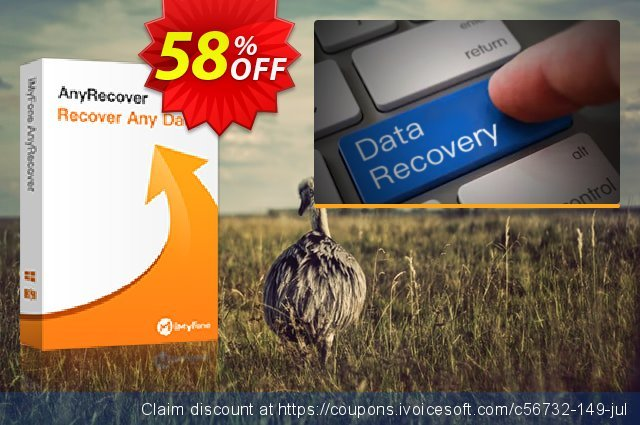 iMyFone AnyRecover for Mac (Lifetime)  굉장한   할인  스크린 샷