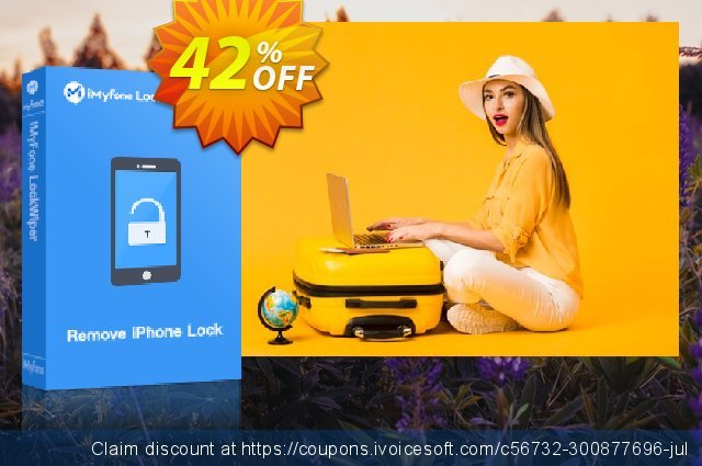 iMyFone LockWiper (Lifetime/11-15 iDevices) discount 42% OFF, 2020 Fourth of July offering sales