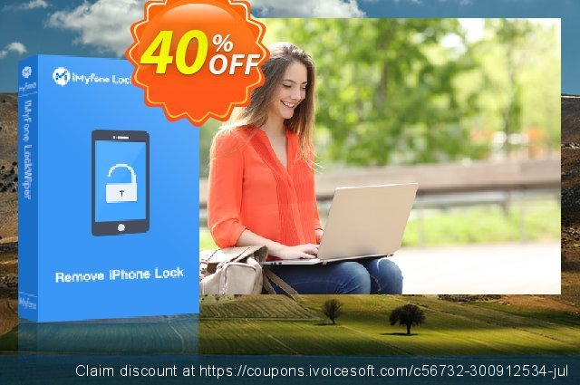 iMyFone LockWiper Android (Lifetime/16-20 Devices) discount 40% OFF, 2020 July 4th discount