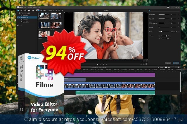 iMyFone Filme discount 94% OFF, 2020 College Student deals offering sales