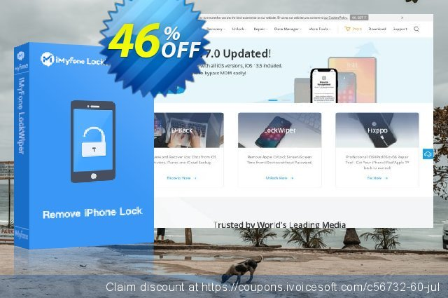iMyfone iPhone Kik Recovery (Family) discount 46% OFF, 2020 Happy New Year offering sales