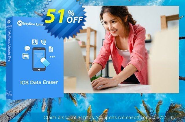 iMyfone Umate Pro for Mac discount 51% OFF, 2020 Halloween offering discount
