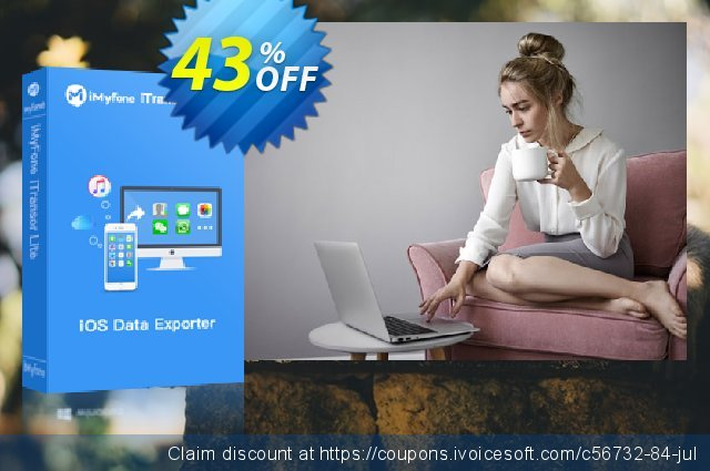 iMyFone iTransor Lite (Family) discount 43% OFF, 2020 New Year offering sales