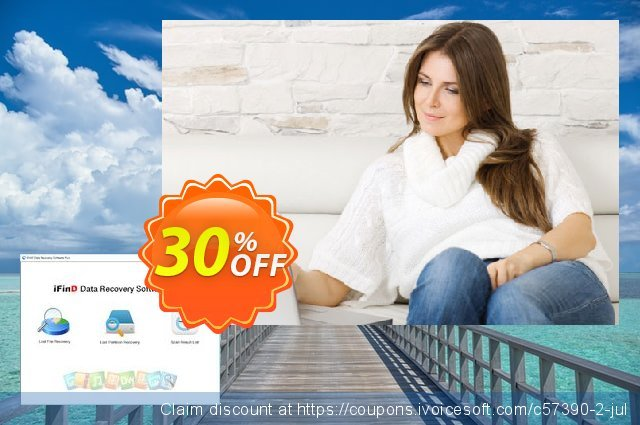iFinD Data Recovery Plus discount 30% OFF, 2021 Spring offering deals