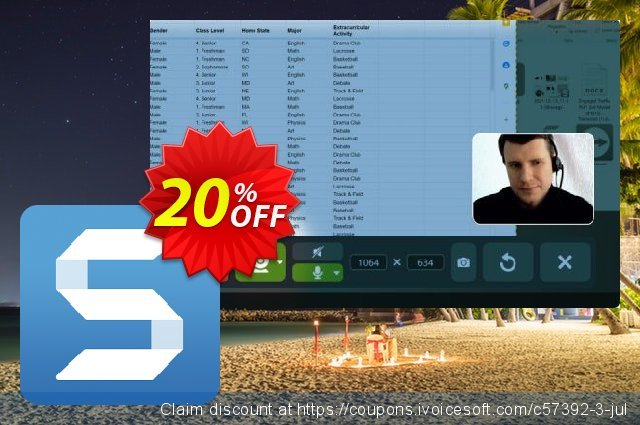 Snagit 2020 discount 10% OFF, 2020 Labour Day offering sales