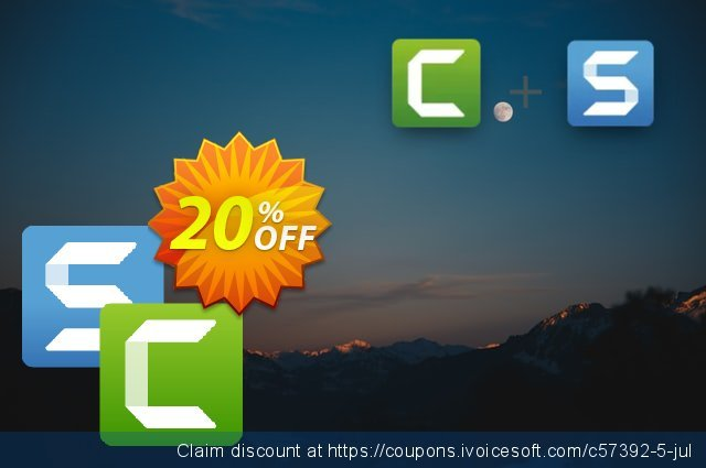 Offer bundle: Snagit and Camtasia discount 20% OFF, 2021 Valentine Week offering sales