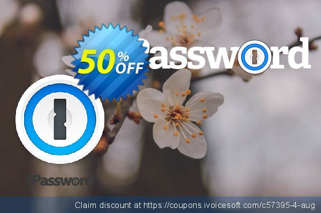 1Password Business discount 50% OFF, 2021 National Savings Day offering sales. 20% OFF 1Password Business, verified