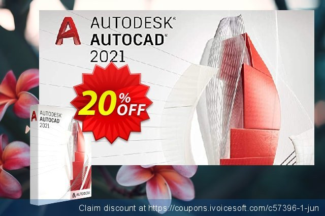 Autodesk AutoCAD Software EU (annually) discount 20% OFF, 2021 Mother's Day offering sales. 20% OFF Autodesk AutoCAD Software EU (annually), verified