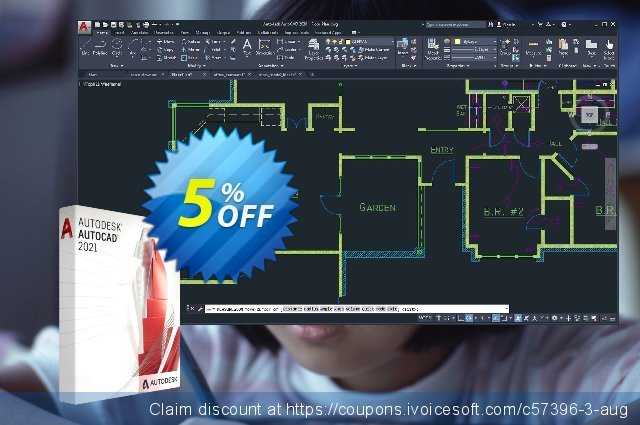 Autodesk AutoCAD Software EU (monthly) discount 5% OFF, 2021 Mother's Day offering sales. 5% OFF Autodesk AutoCAD Software EU (monthly), verified