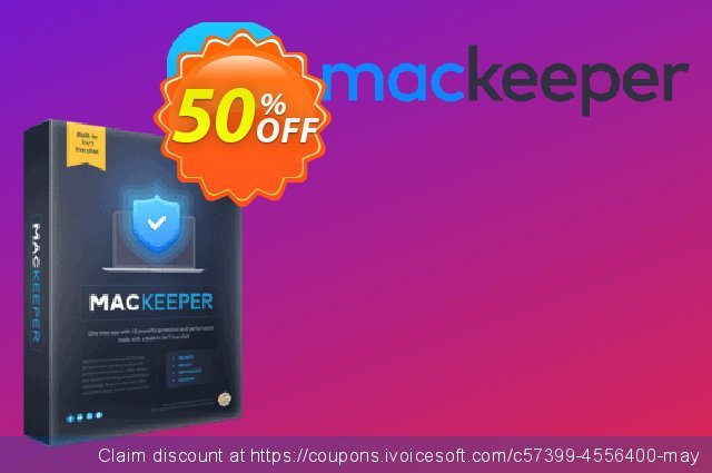 MacKeeper Basic 1-month plan discount 50% OFF, 2021 Mother Day offering sales. MacKeeper Basic - License for 1 Mac marvelous promo code 2021