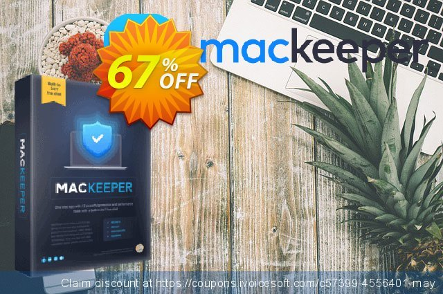 MacKeeper Standard 6-month plan discount 67% OFF, 2021 Mother's Day offering sales. MacKeeper Standard - License for 2 Macs wondrous discounts code 2021