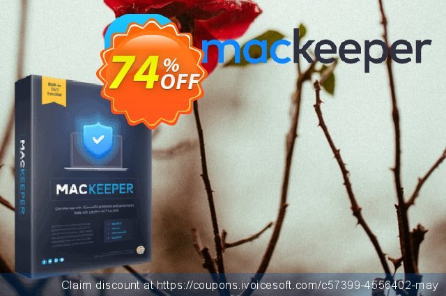 MacKeeper Premium 12-month plan discount 74% OFF, 2021 Mother Day offering sales. MacKeeper Premium - License for 3 Macs awful promotions code 2021