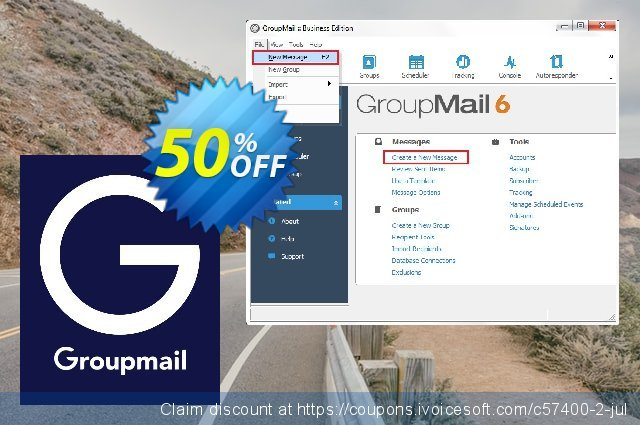 GroupMail Business License discount 20% OFF, 2021 Video Game Day discounts. 20% OFF GroupMail Business License, verified