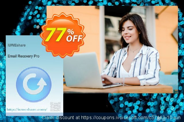 IUWEshare Email Recovery Pro discount 77% OFF, 2020 Happy New Year deals