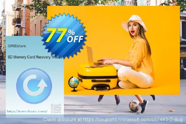 IUWEshare SD Memory Card Recovery Wizard discount 77% OFF, 2019 Black Friday offering sales