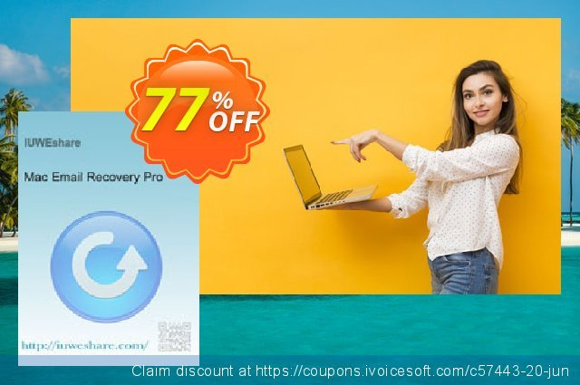 IUWEshare Mac Email Recovery Pro discount 77% OFF, 2020 American Independence Day discounts