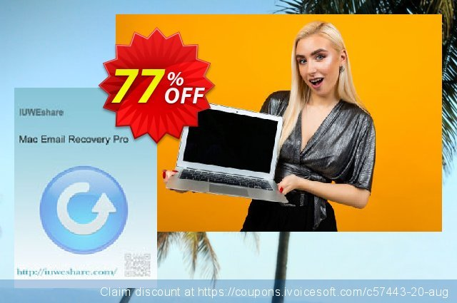 IUWEshare Mac Email Recovery Pro discount 77% OFF, 2019 Black Friday offer