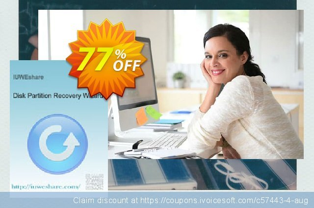 IUWEshare Disk Partition Recovery Wizard discount 77% OFF, 2020 Spring offering deals