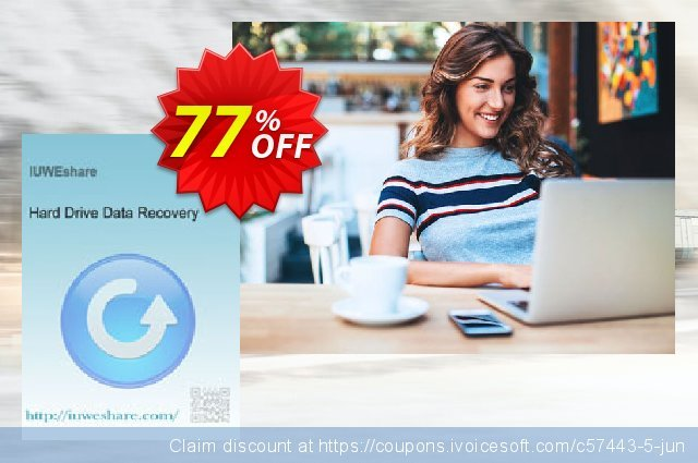 IUWEshare Hard Drive Data Recovery discount 77% OFF, 2020 New Year promo sales