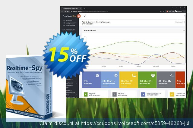 Spytech Realtime-Spy PLUS MAC discount 15% OFF, 2019 Thanksgiving deals