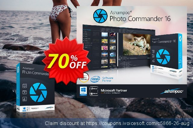 Get 70% OFF Ashampoo Photo Commander offering deals
