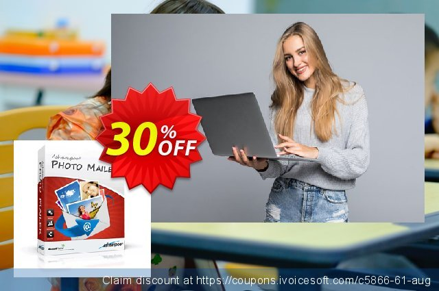 Ashampoo Photo Mailer discount 30% OFF, 2020 Happy New Year offering sales