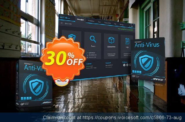 Ashampoo Anti-Virus discount 30% OFF, 2021 Mother's Day offering sales. 30% OFF Ashampoo Anti-Virus, verified