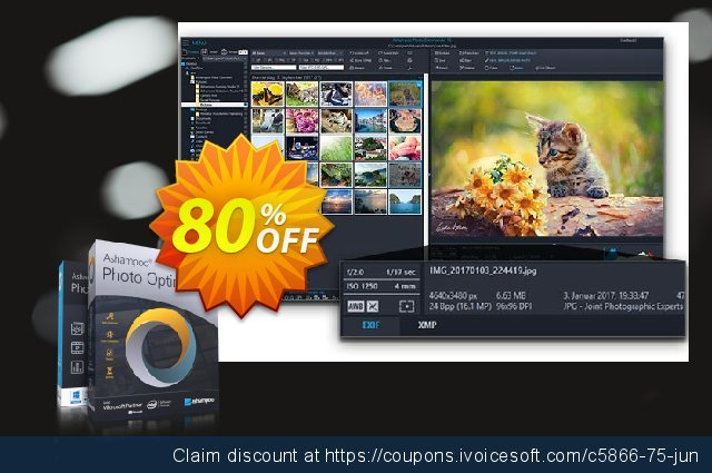 Ashampoo Ultimate Photo Tool Bundle discount 30% OFF, 2021 Mother's Day offering sales. 30% OFF Ashampoo Ultimate Photo Tool Bundle, verified