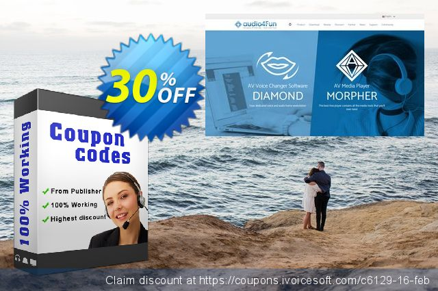 AV Webcam Morpher discount 30% OFF, 2019 Working Day discounts