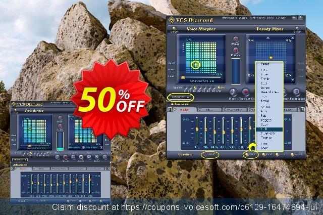 AV Voice Changer Software Diamond 7.0 驚きっ放し カンパ スクリーンショット