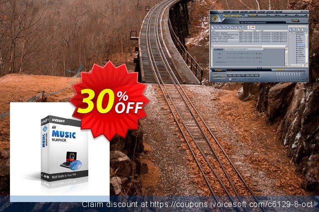 AV Music Morpher discount 30% OFF, 2018 New Year's eve offer