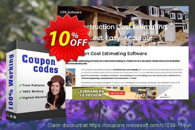 ConstructionWORKS Complete discount 10% OFF, 2019 Thanksgiving Day promo
