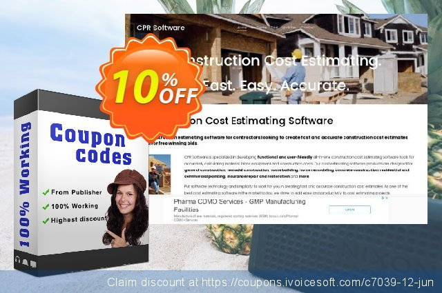 FloorCOST Estimator for Excel discount 10% OFF, 2021 New Year's Weekend promotions