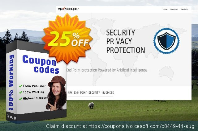 Max Spyware Detector 3 User bundle discount 25% OFF, 2021 Valentines Day offering sales