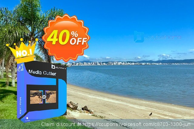JOYOshare Media Cutter for Mac Single License discount 40% OFF, 2021 New Year's Weekend offering sales
