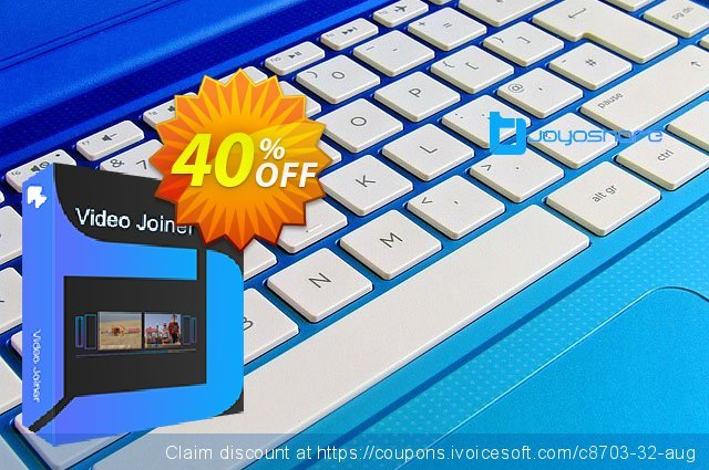JOYOshare Video Joiner for Mac discount 40% OFF, 2021 New Year discounts