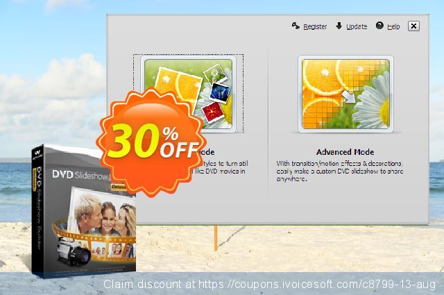 Get 30% OFF Wondershare DVD Slideshow Builder Deluxe for Windows promo sales