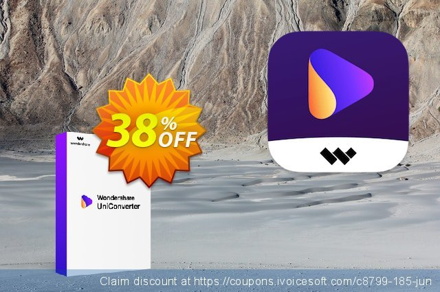 Wondershare Video Converter Pro discount 30% OFF, 2020 Happy New Year promotions
