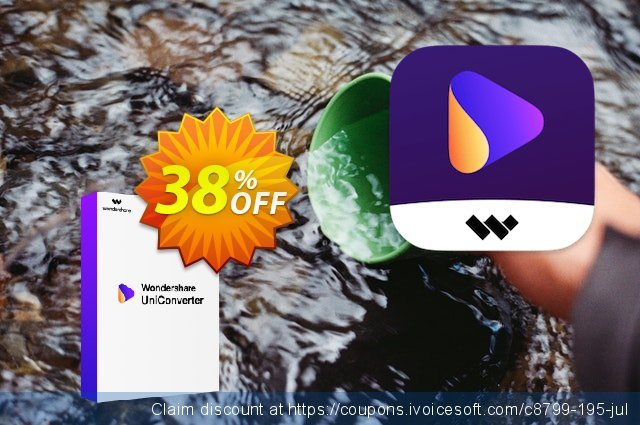 Wondershare UniConverter discount 30% OFF, 2019 Thanksgiving Day sales