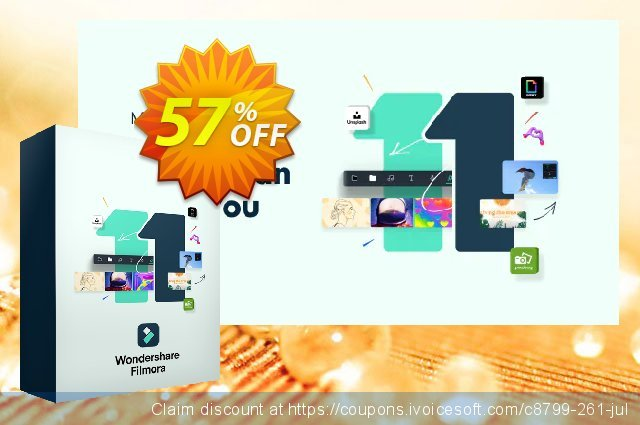 Filmora discount 40% OFF, 2019 Halloween promo