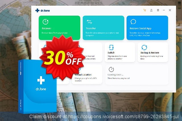 dr.fone (Mac) - Screen Unlock (Android) discount 30% OFF, 2020 Back to School promo promo sales